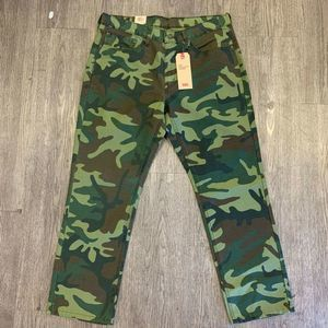 Levis 541 Jeans 34 x 30 Athletic Taper Camouflage